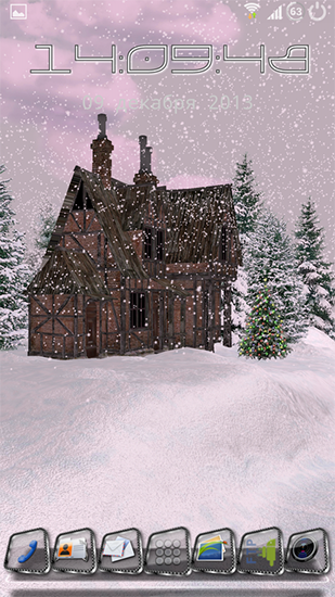 Screenshots of the Snow HD deluxe edition for Android tablet, phone.