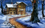Snow: Night - download free live wallpapers for Android. Snow: Night full Android apk version for tablets and phones.