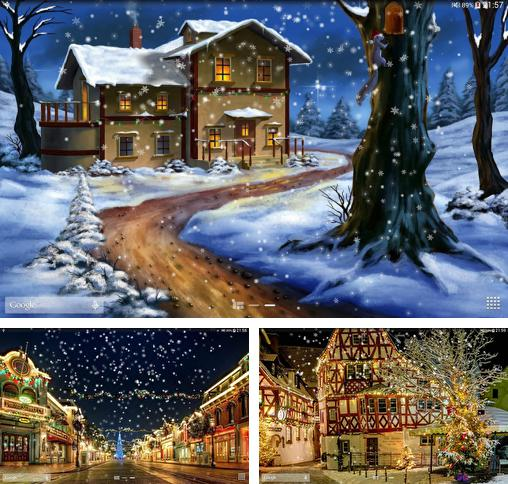In addition to live wallpaper Night sky by Amax lwps for Android phones and tablets, you can also download Snow: Night for free.