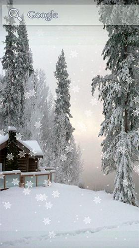 Snow Winter Fur Android Kostenlos Herunterladen Live Wallpaper