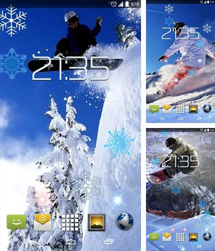 Download live wallpaper Snowboarding for Android. Get full version of Android apk livewallpaper Snowboarding for tablet and phone.