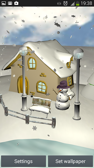 Download Snowfall 3D - livewallpaper for Android. Snowfall 3D apk - free download.