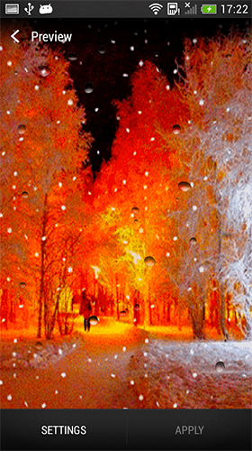 Snowfall by Live Wallpaper HD 3D