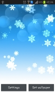 Snowflake - download free live wallpapers for Android. Snowflake full Android apk version for tablets and phones.