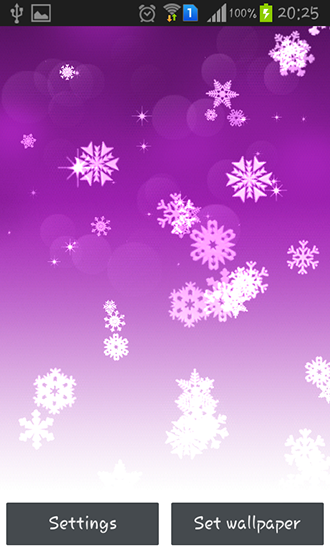 Download livewallpaper Snowflake for Android. Get full version of Android apk livewallpaper Snowflake for tablet and phone.