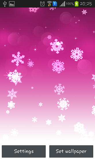 Download Snowflake - livewallpaper for Android. Snowflake apk - free download.