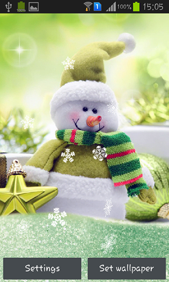 Download Snowman - livewallpaper for Android. Snowman apk - free download.