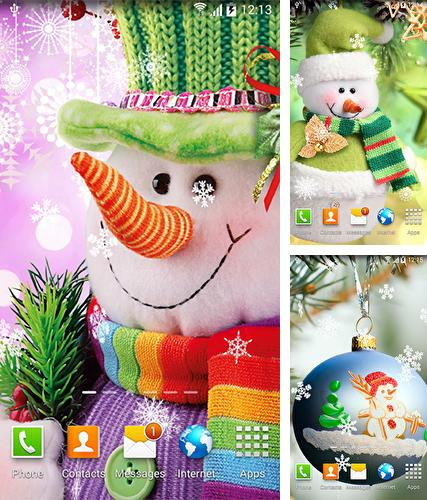 Download live wallpaper Snowman by BlackBird Wallpapers for Android. Get full version of Android apk livewallpaper Snowman by BlackBird Wallpapers for tablet and phone.