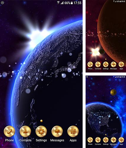 Download live wallpaper Solar system for Android. Get full version of Android apk livewallpaper Solar system for tablet and phone.