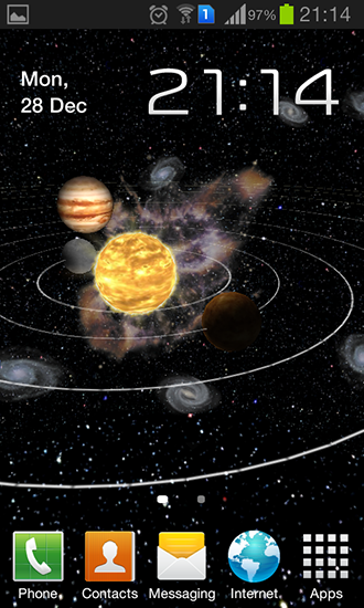 Download livewallpaper Solar system 3D for Android. Get full version of Android apk livewallpaper Solar system 3D for tablet and phone.