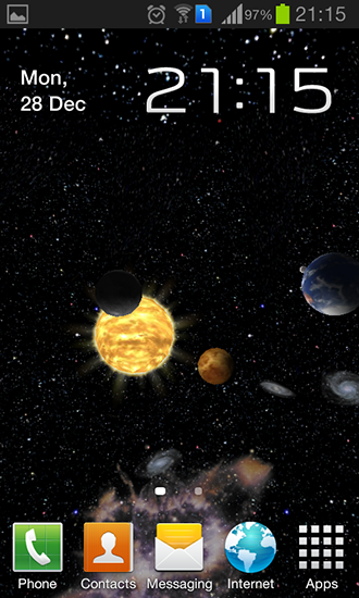 Download Solar system 3D - livewallpaper for Android. Solar system 3D apk - free download.