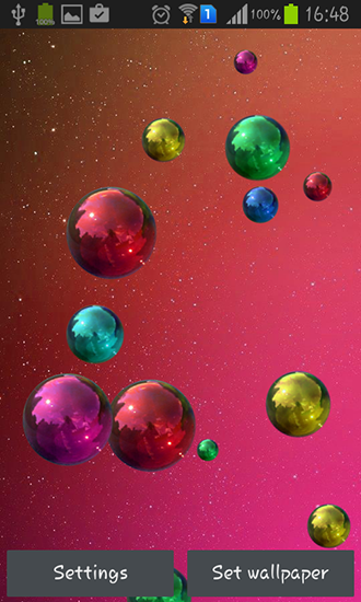 Download livewallpaper Space bubbles for Android. Get full version of Android apk livewallpaper Space bubbles for tablet and phone.
