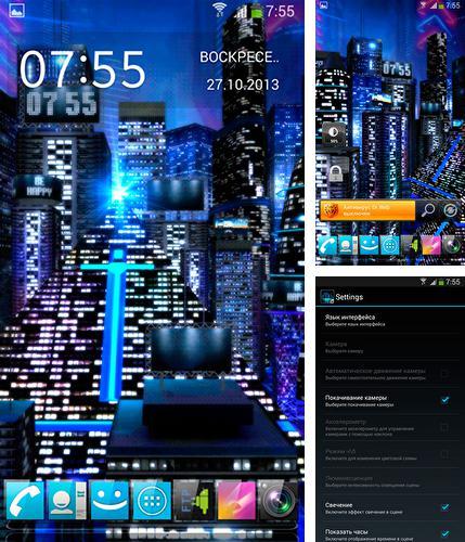 Snow: Night Pour Android à Télécharger Gratuitement. Fond