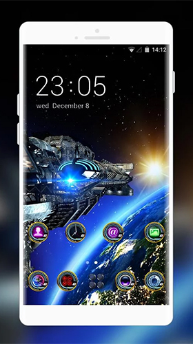 Space galaxy 3D by Mobo Theme Apps Team