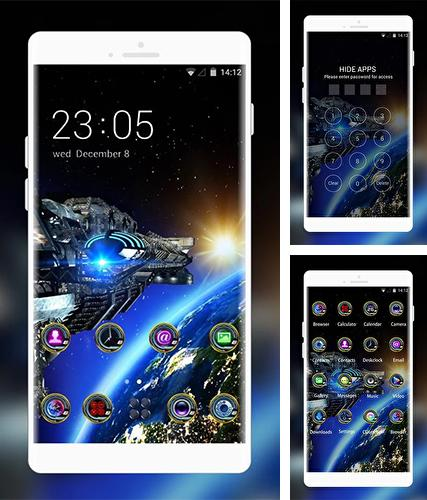 Kostenloses Android-Live Wallpaper Weltraum Galaxie 3D. Vollversion der Android-apk-App Space galaxy 3D by Mobo Theme Apps Team für Tablets und Telefone.