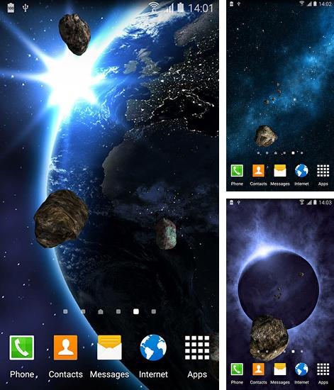 In addition to live wallpaper Black cat for Android phones and tablets, you can also download Space HD 2015 for free.