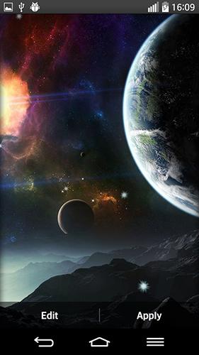 Live Wallpaper Description Space Planets