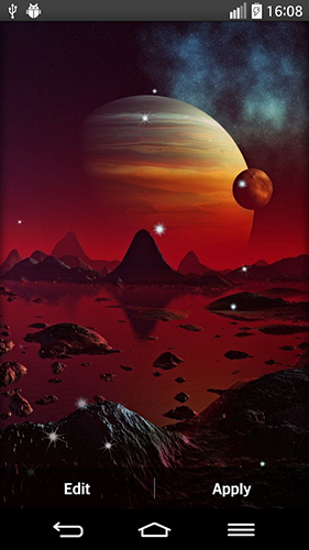 Download Space planets - livewallpaper for Android. Space planets apk - free download.