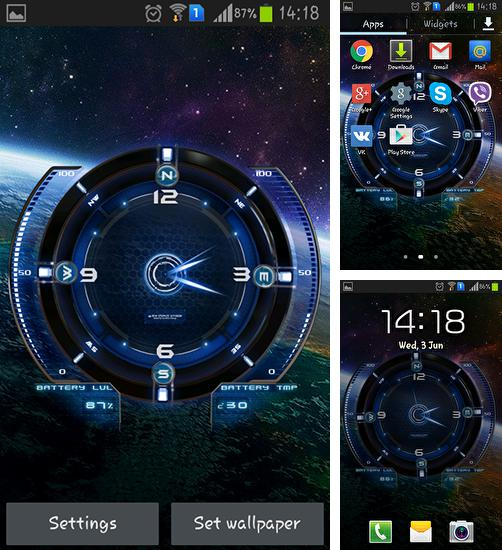 In addition to live wallpaper Jasmine for Android phones and tablets, you can also download Space tourism for free.