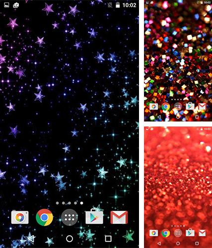 Download live wallpaper Sparkle for Android. Get full version of Android apk livewallpaper Sparkle for tablet and phone.