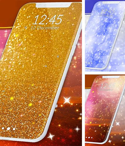 Download live wallpaper Sparkling glitter for Android. Get full version of Android apk livewallpaper Sparkling glitter for tablet and phone.
