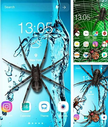 Baixe o papeis de parede animados Spider 3D by Weather Widget Theme Dev Team para Android gratuitamente. Obtenha a versao completa do aplicativo apk para Android Spider 3D by Weather Widget Theme Dev Team para tablet e celular.