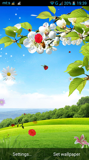 Spring by Pro live wallpapers