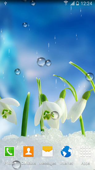 Download livewallpaper Spring flowers for Android. Get full version of Android apk livewallpaper Spring flowers for tablet and phone.