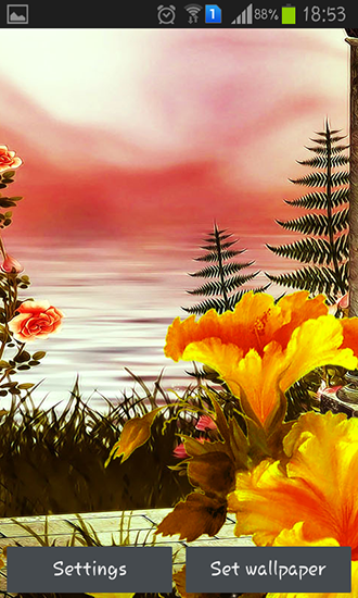 Download livewallpaper Spring flowers: Magic for Android. Get full version of Android apk livewallpaper Spring flowers: Magic for tablet and phone.