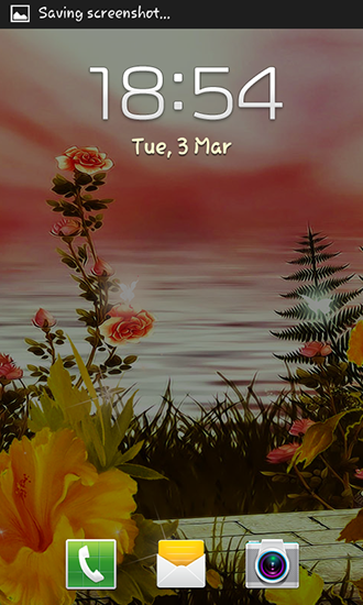 Screenshots von Spring flowers: Magic für Android-Tablet, Smartphone.