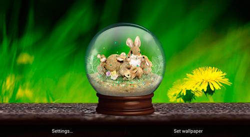 Descargar Spring Globe Para Android Gratis El Fondo De