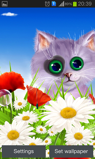 Screenshots do Primavera: Gatinho para tablet e celular Android.