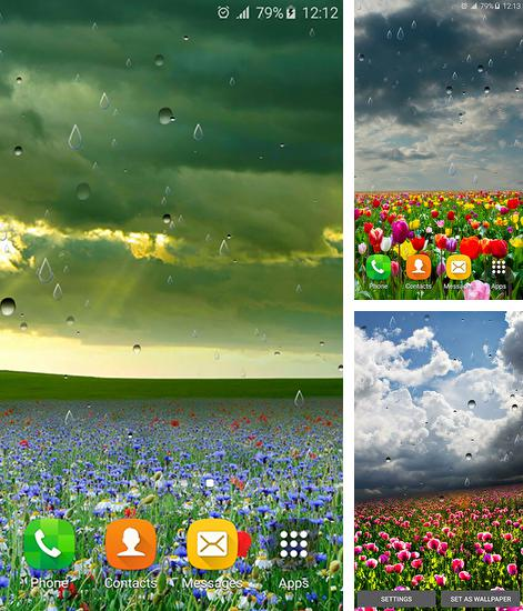 In addition to live wallpaper Doodle art for Android phones and tablets, you can also download Spring rain by Locos apps for free.