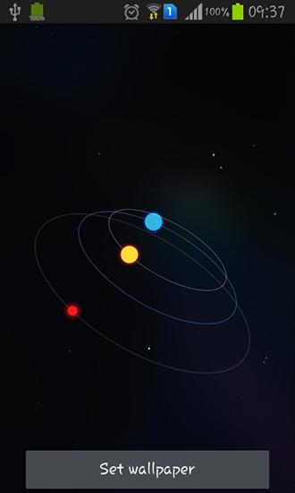 Star orbit pour android t l charger gratuitement fond d for Fond ecran tablette android gratuit