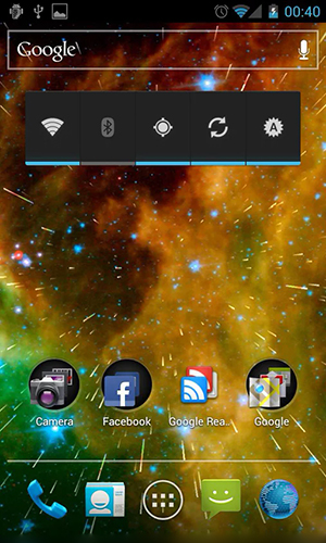 Download livewallpaper Starfield 2 3D for Android. Get full version of Android apk livewallpaper Starfield 2 3D for tablet and phone.