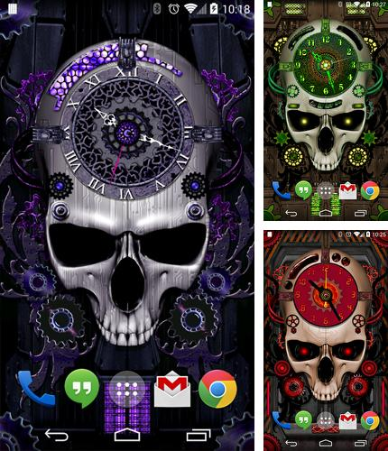 Download live wallpaper Steampunk Clock for Android. Get full version of Android apk livewallpaper Steampunk Clock for tablet and phone.