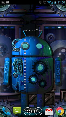 Steampunk droid fear lab live wallpaper for android steampunk droid fear lab free download - Droid live wallpaper ...