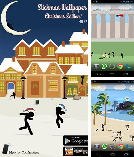 Kostenloses Android-Live Wallpaper Stickman. Vollversion der Android-apk-App Stickman für Tablets und Telefone.