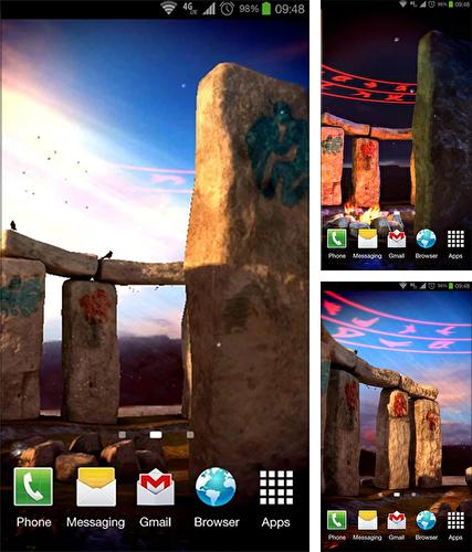 Download live wallpaper Stonehenge 3D for Android. Get full version of Android apk livewallpaper Stonehenge 3D for tablet and phone.