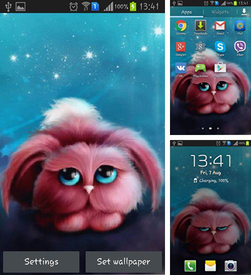 In addition to live wallpaper Red barn for Android phones and tablets, you can also download Strange creature for free.