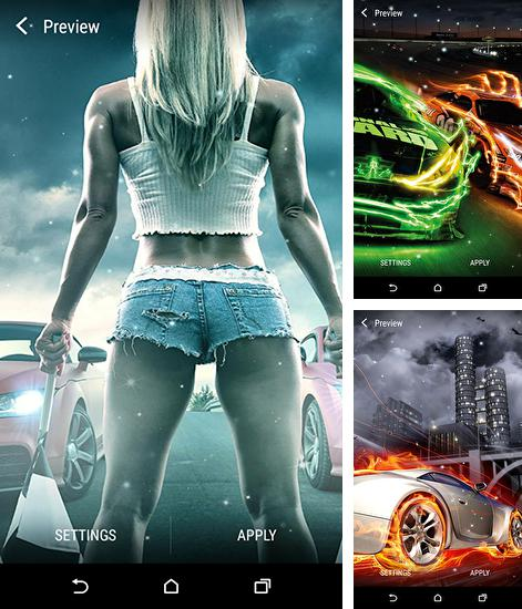 In addition to live wallpaper Diamonds by Pro Live Wallpapers for Android phones and tablets, you can also download Street racing for free.