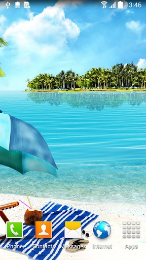 Download Summer beach - livewallpaper for Android. Summer beach apk - free download.