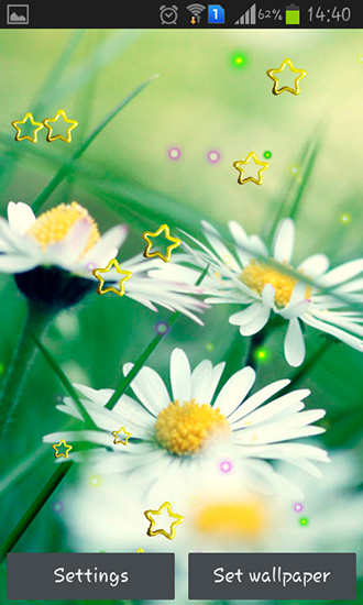 Screenshots of the Summer camomile for Android tablet, phone.