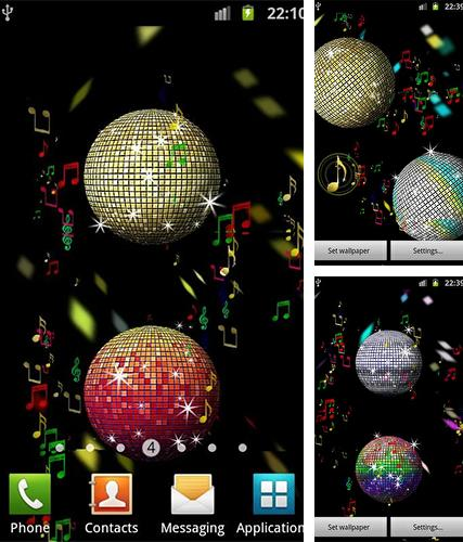 Download live wallpaper Summer disco ball for Android. Get full version of Android apk livewallpaper Summer disco ball for tablet and phone.
