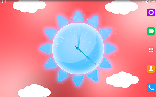 Download livewallpaper Sunny weather clock for Android. Get full version of Android apk livewallpaper Sunny weather clock for tablet and phone.