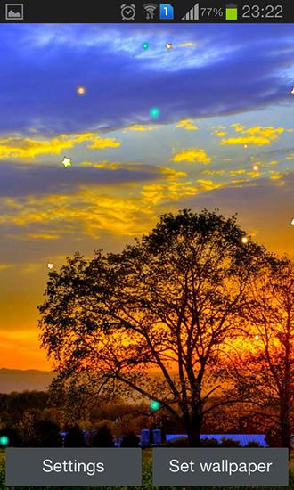 Sunset spring für Android kostenlos herunterladen. Live
