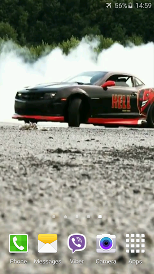Kostenloses Android-Live Wallpaper Super Drift. Vollversion der Android-apk-App Super Drift für Tablets und Telefone.