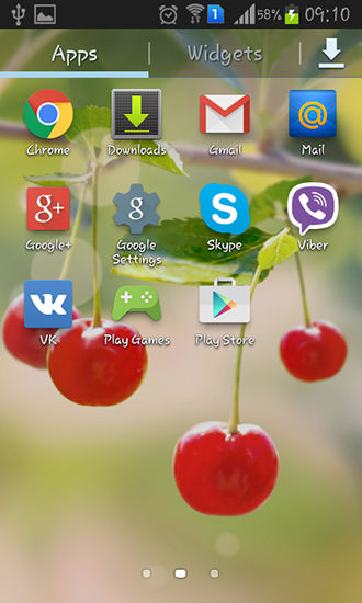 Download Sweet cherry - livewallpaper for Android. Sweet cherry apk - free download.