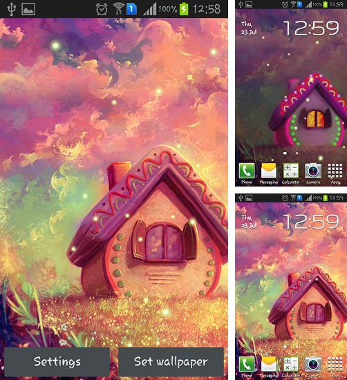 In addition to live wallpaper Planets by Top Live Wallpapers for Android phones and tablets, you can also download Sweet home for free.