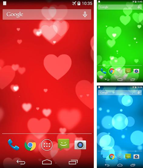 In addition to live wallpaper Shiny сolor for Android phones and tablets, you can also download Sweetheart for free.